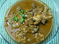 easy chicken curry recipe picture