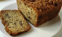banana bread or banana loaf image