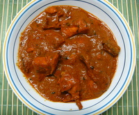 butter chicken recipe, one of the most popular of indian chicken recipes