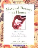 book on natural beauty at home