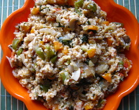 healthy oats porridge