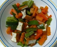 picture of carrot salad, a healthy summer salad recipe