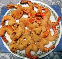 prawn tempura, an appetizer recipe